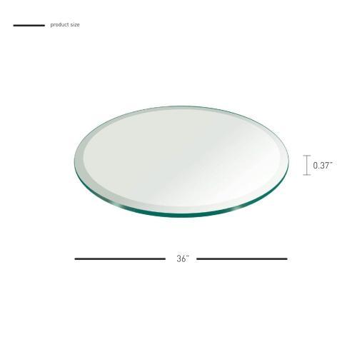"36"" Round Glass Top"