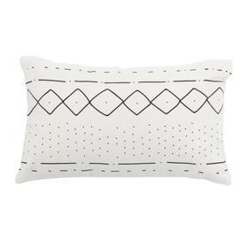 Tari Pillow - Black / White