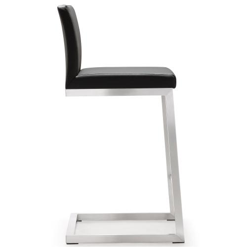 Tov Furniture - Parma Grey Steel Counter Stool (Set of 2)