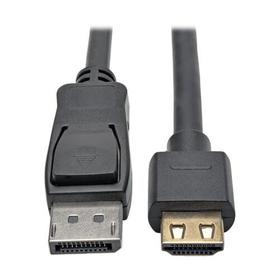 DisplayPort 1.2 to HDMI Active Adapter Cable, Gripping HDMI Plug, HDCP 2.2, 4K @ 60 Hz (M/M), 3 ft.