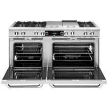 "60"" eight Open Top Burner + 12"" BBQ Burner, Dual Fuel self-clean range, Natural Gas"