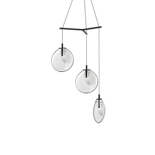 Cantina Medium 3-Light Tri-Spreader LED Pendant