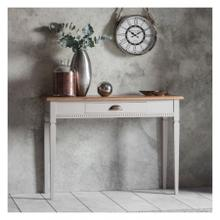 GA Bronte 1 Drawer Console Table Taupe