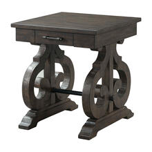 View Product - Stone Chair Side Table w/ PU Base