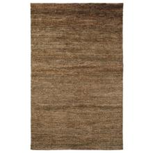 See Details - Handknotted Sheared Brown 2x3