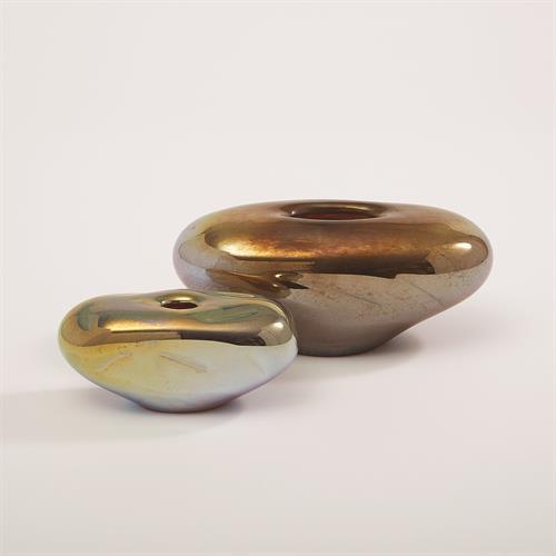 Abstract Bean Vase-Iris Gelp-Sm