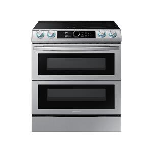 Samsung6.3 cu. ft. Smart Slide-In Induction Range with Flex Duo™, Smart Dial & Air Fry in Stainless Steel