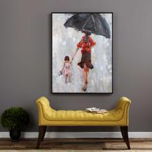 Splashing Hand Painted Canvas