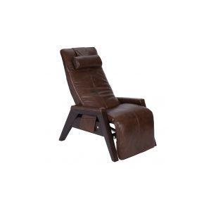 Human Touch - Gravis ZG Chair - Saddle - Mahogany