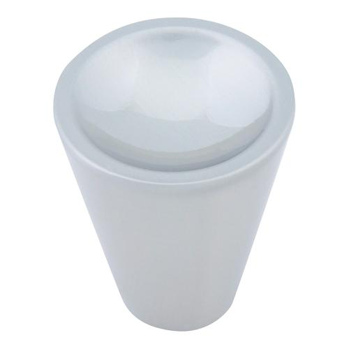 Dap Cone Knob 1 Inch - Brushed Nickel