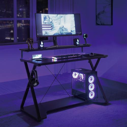 Checkpoint Ghost Battlestation Gaming Desk Rgb LED Lights