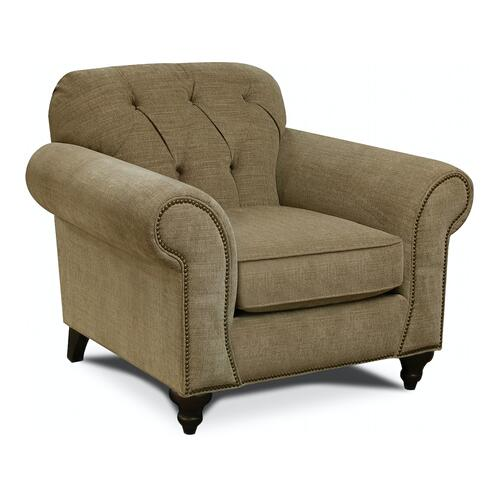 England Furniture - 8N04N Evan Chair with Nails
