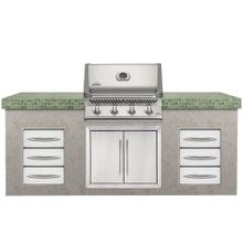 Built-in Grills BIP500 Prestige Series Built-in Grill- NG STAINLESS