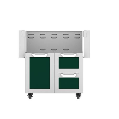 "Product Image - 30"" Hestan Outdoor Tower Cart with Door/Drawer Combo - GCR Series - Grove"