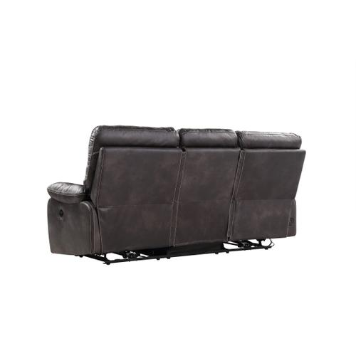 Jessie James Power Reclining Sofa, Dark Graphite U7130-18-03