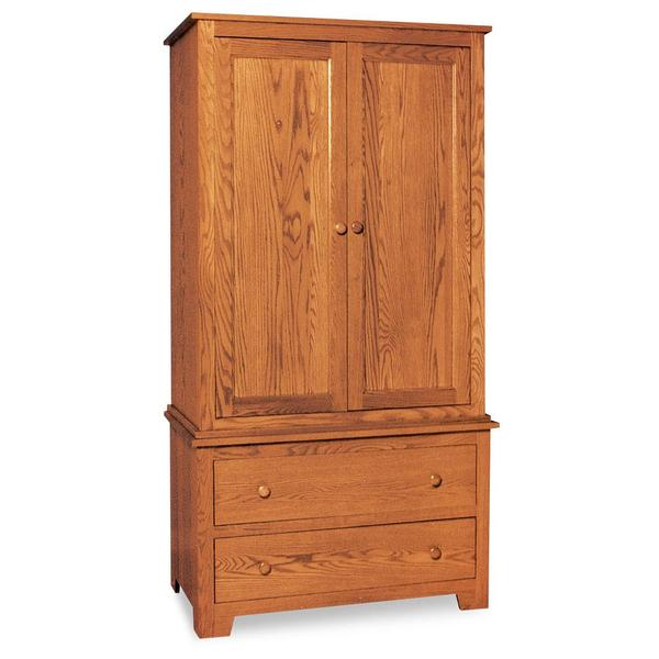 See Details - Shaker Armoire on Chest