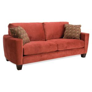 Loveseat (2 seats over 2 backs)