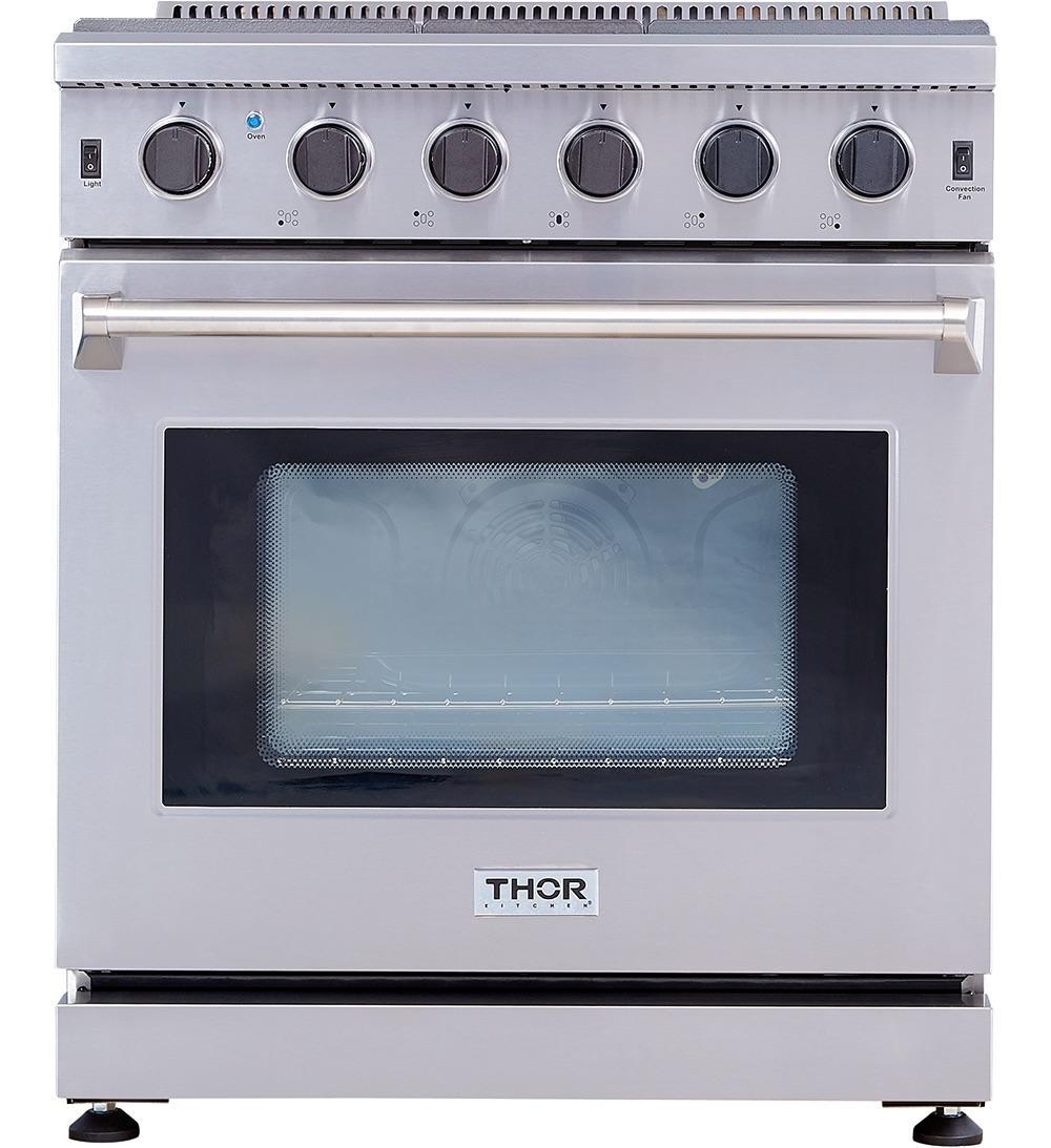 Thor Kitchen30 Inch Gas Range In Stainless Steel
