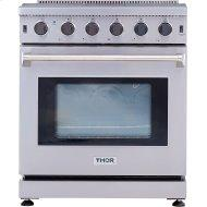 30 Inch Gas Range In Stainless Steel