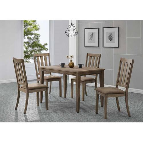 Liberty Furniture Industries - 5 Piece Café Table Set