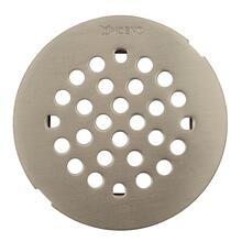 Moen brushed nickel tub/shower drain covers