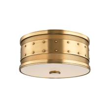 Flush Mount - AGED BRASS
