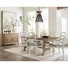 Madison - Trestle Dining Table - Caramel Finish
