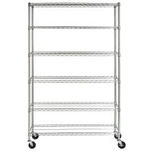 Juliet 6 Tier Heavy Duty Chrome Wire Rack - Chrome Plating