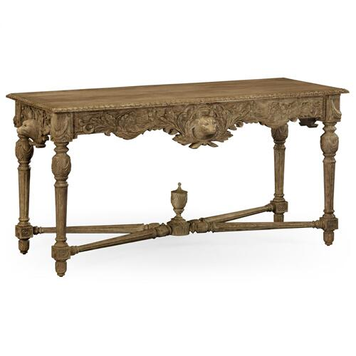 Godwyn Washed Oak Console Table