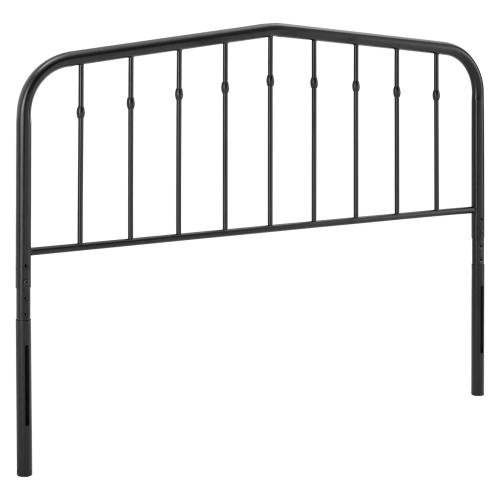 Lennon Full Metal Headboard in Black