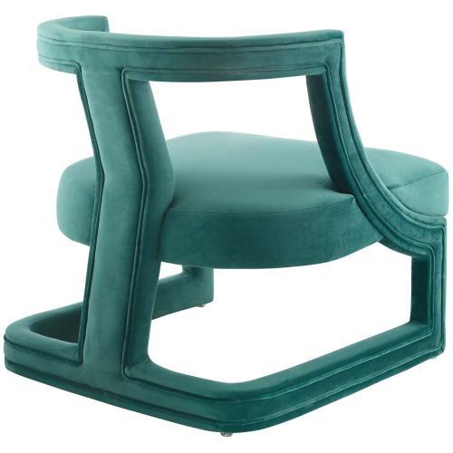 Modway - Requisite Armchair Performance Velvet Set of 2 in Teal