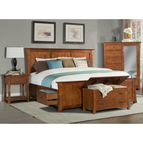 Product Image - King Platform Storage Bed