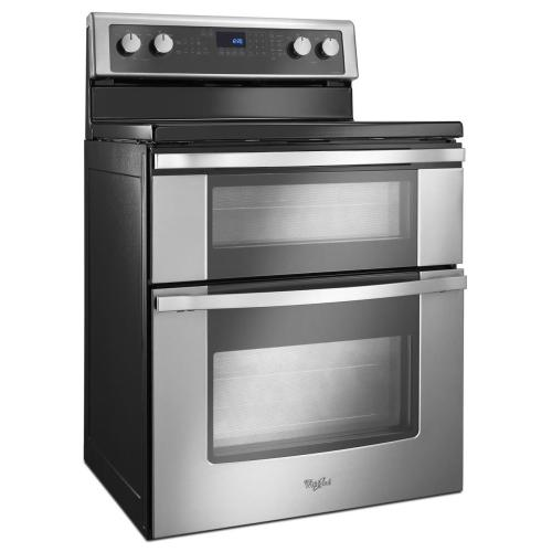 Gallery - 6.7 Total cu. ft. Double Oven Electric Range with True Convection Cooking