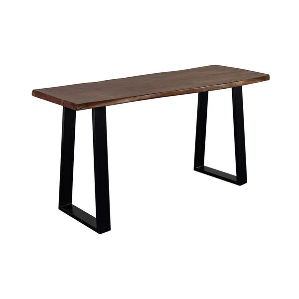 See Details - Manzanita Walnut Console Table with Different Bases, VCA-CS58W