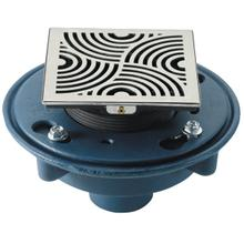 """See Details - DECO SWIRL STYLEDRAIN SET WITH 2"""" IPS"""
