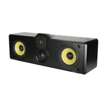 C1 Three-Way, Center Channel Speaker in Black Gloss