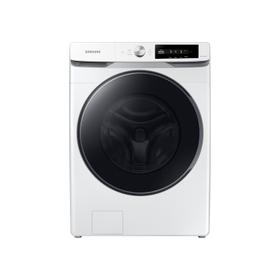 4.5 cu. ft. Large Capacity Smart Dial Front Load Washer with Super Speed Wash in White