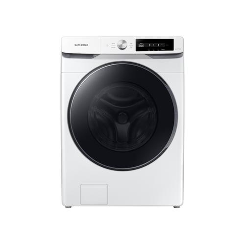 Samsung - 4.5 cu. ft. Large Capacity Smart Dial Front Load Washer with Super Speed Wash in White