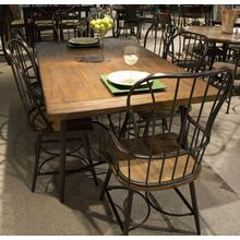 See Details - Winchester Plank Arm Chair