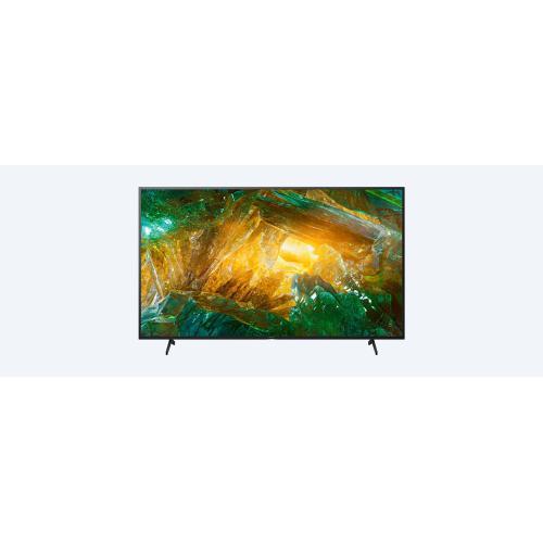 X800H  LED  4K Ultra HD  High Dynamic Range (HDR)  Smart TV (Android TV)