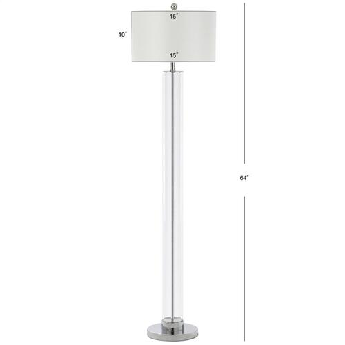 Lovato 64-inch H Floor Lamp - Clear