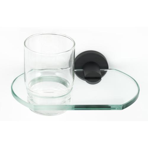 Contemporary I Tumbler Holder A8370 - Matte Black
