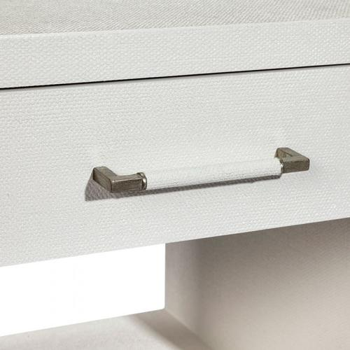 Taylor Small Bedside Chest - White