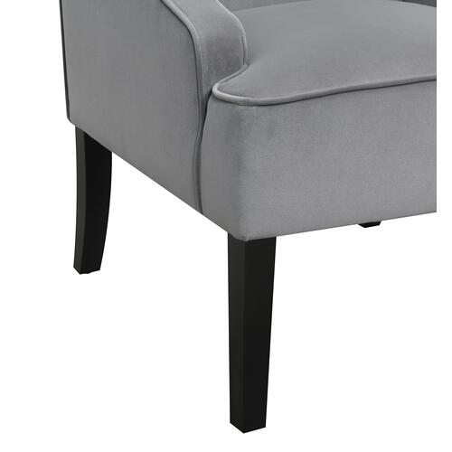 Alyce Accent Chair, French Gray U3316-05-03