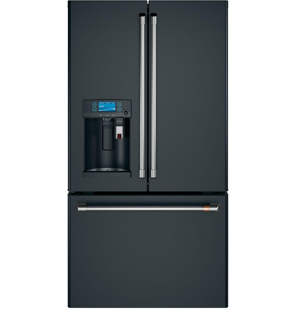 CafeCafé™ Energy Star® 27.7 Cu. Ft. French-Door Refrigerator With Keurig® K-Cup® Brewing System