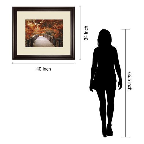 "Gallery - ""Footbridge"" By Jessica Jenney Framed Print Wall Art"