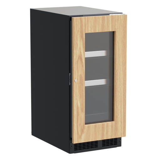 Marvel - 15-In Professional Built-In Beverage Center With Reversible Hinge with Door Style - Panel Ready Frame Glass