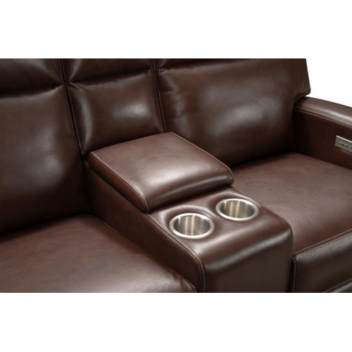 Barca Lounger - Marcello Rustic-Brown Loveseat