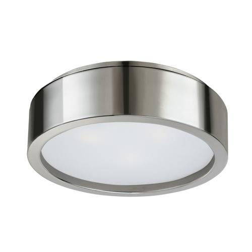 """Sonneman - A Way of Light - Puck Surface Mount [Size=15"""", Color/Finish=Polished Nickel]"""