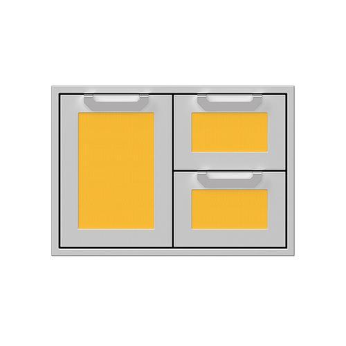 """Hestan - 30"""" Hestan Outdoor Combo Door/Drawer - AGSDR Series - Sol"""